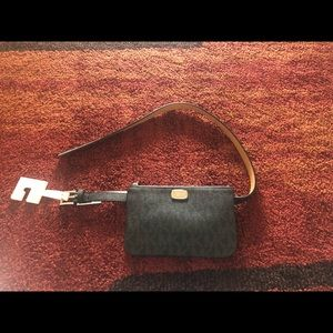 Michael Kors Monogram Belt Bag